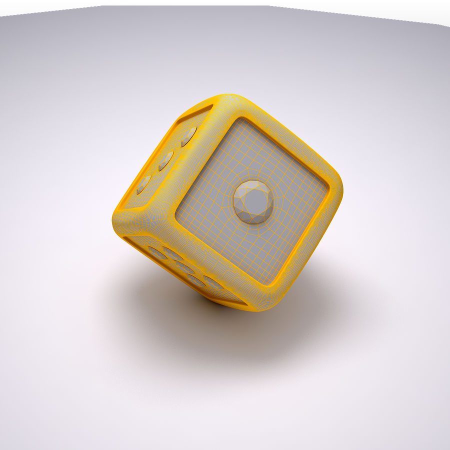 Casino Dice royalty-free 3d model - Preview no. 7
