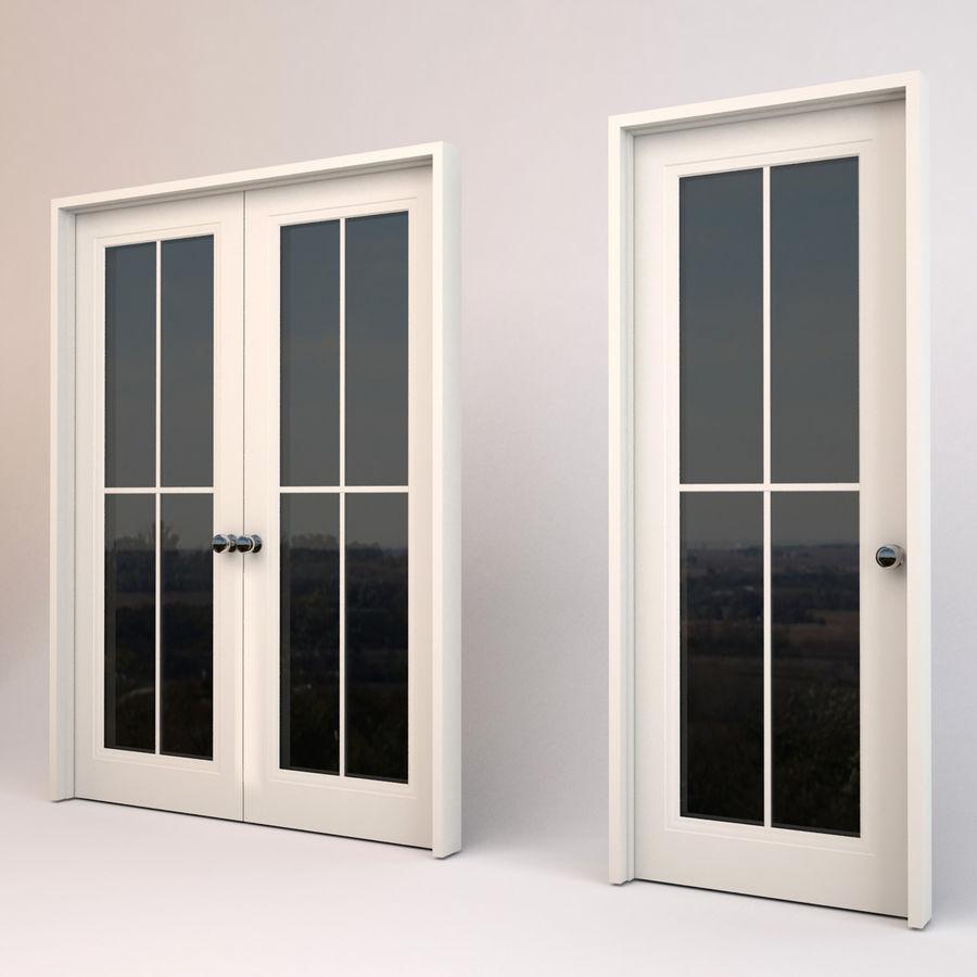 Ventanas y puertas royalty-free modelo 3d - Preview no. 3