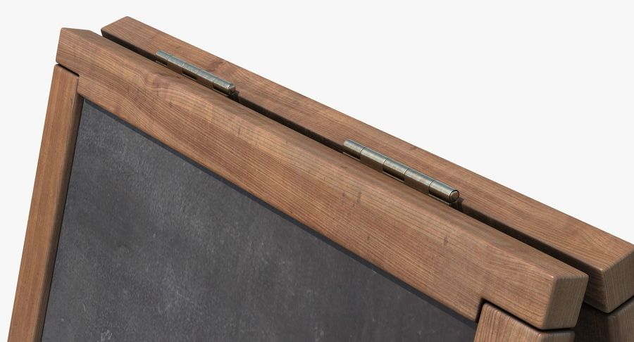 Sandwich Board royalty-free 3d model - Preview no. 2