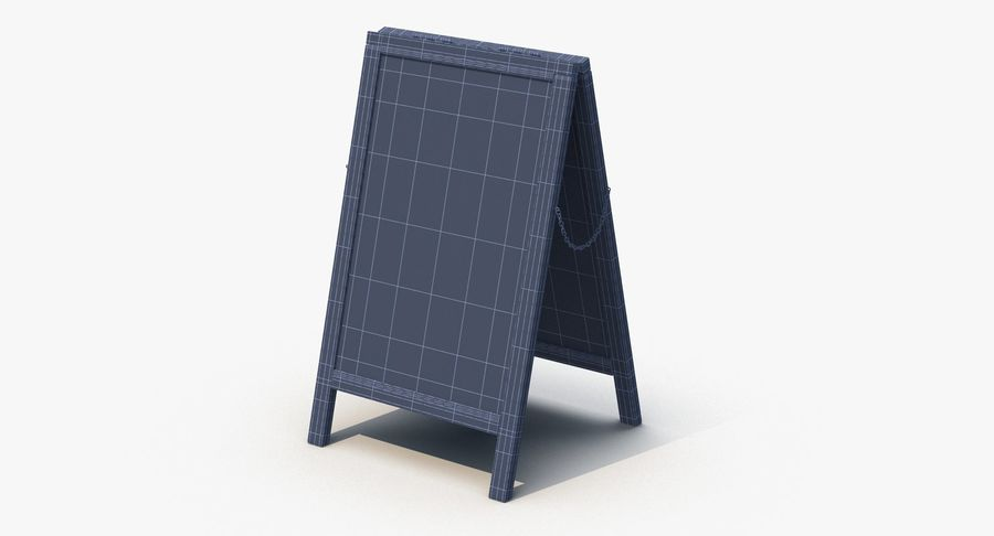 Sandwich Board royalty-free 3d model - Preview no. 7