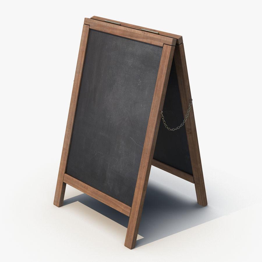 Sandwich Board royalty-free 3d model - Preview no. 1