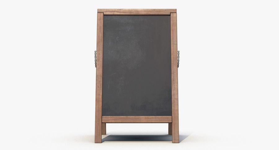 Sandwich Board royalty-free 3d model - Preview no. 6