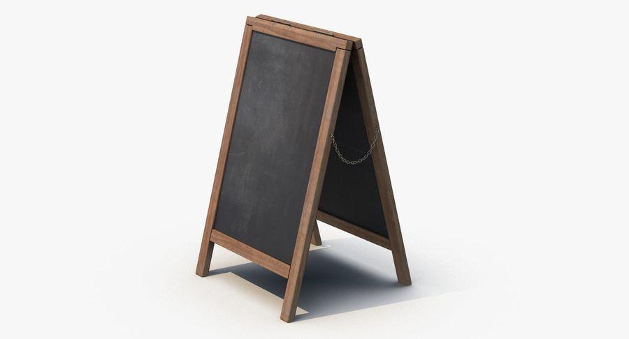 Sandwich Board royalty-free 3d model - Preview no. 5