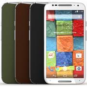 Motorola moto G 4 cores 3d model
