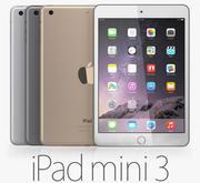 iPad Mini 3 3d model