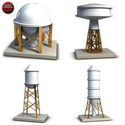 Industrial Tanks Collection 3d model