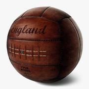 Vintage Soccer Ball England 3d model