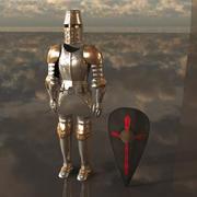 Armure de chevalier 3d model