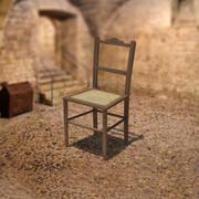 18 세기 의자 3d model