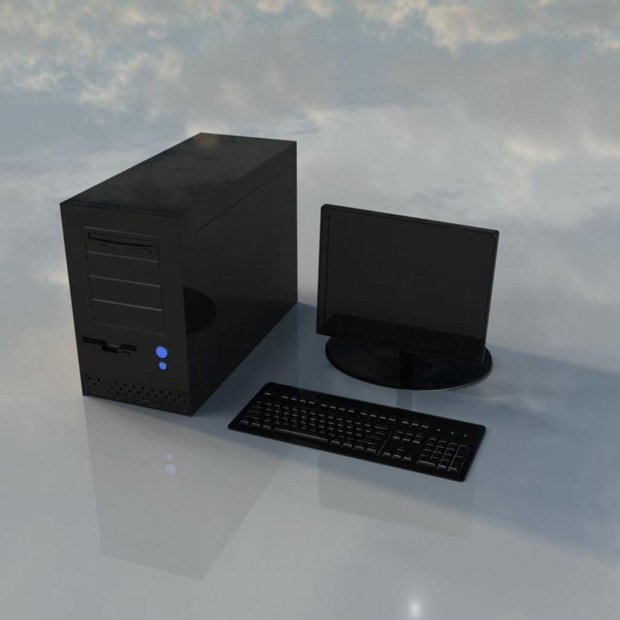 コンピューター royalty-free 3d model - Preview no. 1