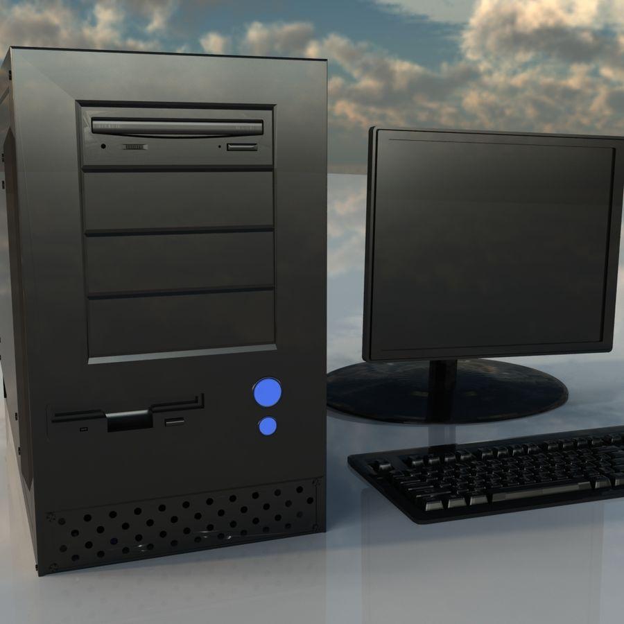 コンピューター royalty-free 3d model - Preview no. 3