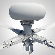 AH-64 Apache Main Rotor Head 3d model
