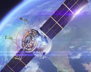 通信衛星 3d model