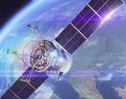 спутник связи 3d model