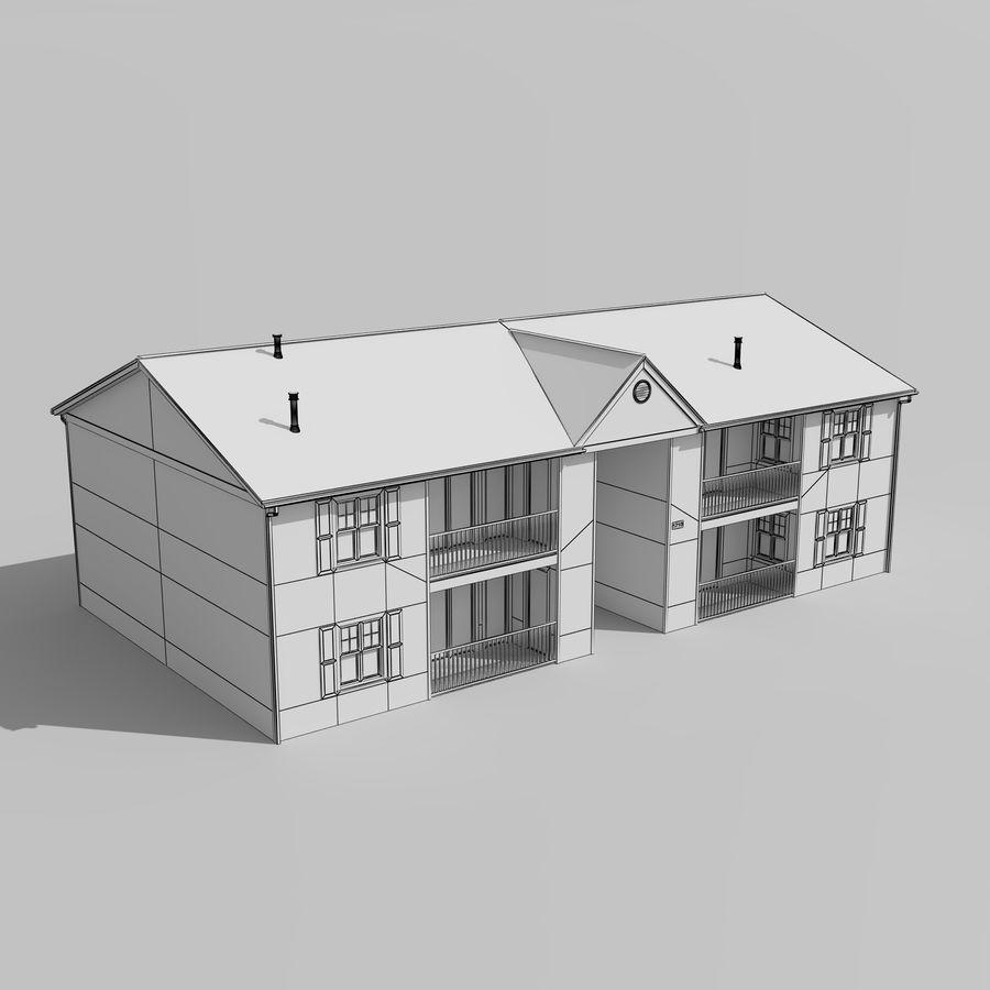 Mieszkanie do domu royalty-free 3d model - Preview no. 9