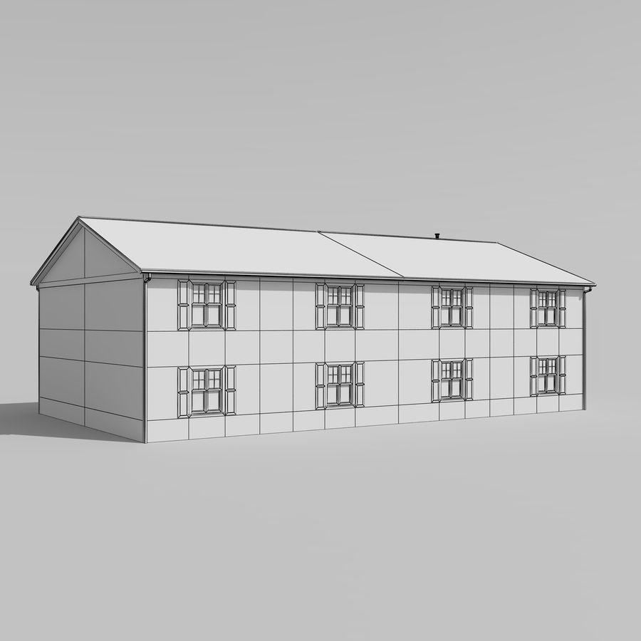 Mieszkanie do domu royalty-free 3d model - Preview no. 8