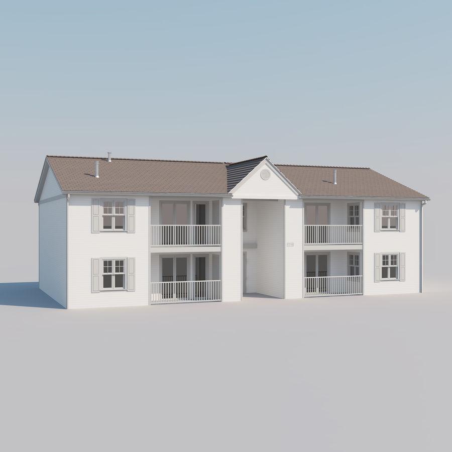 Mieszkanie do domu royalty-free 3d model - Preview no. 2