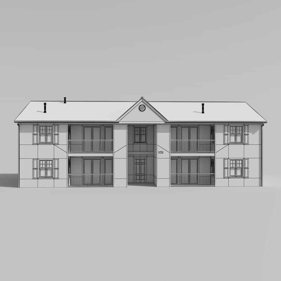 Mieszkanie do domu royalty-free 3d model - Preview no. 7