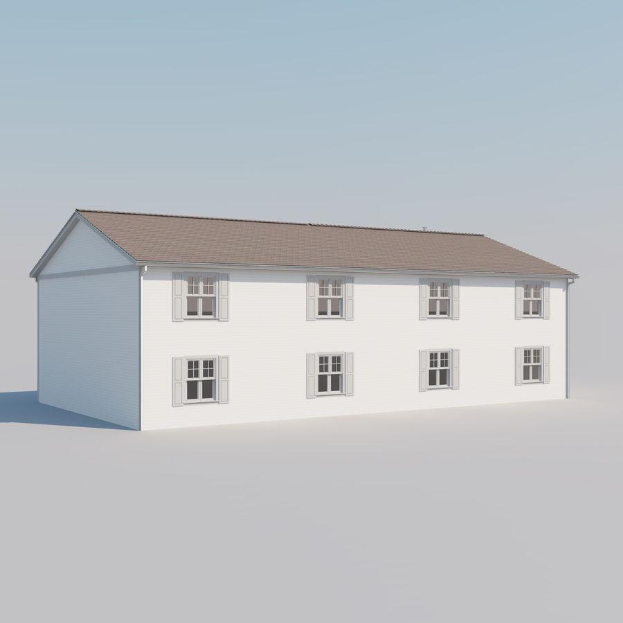 Mieszkanie do domu royalty-free 3d model - Preview no. 4