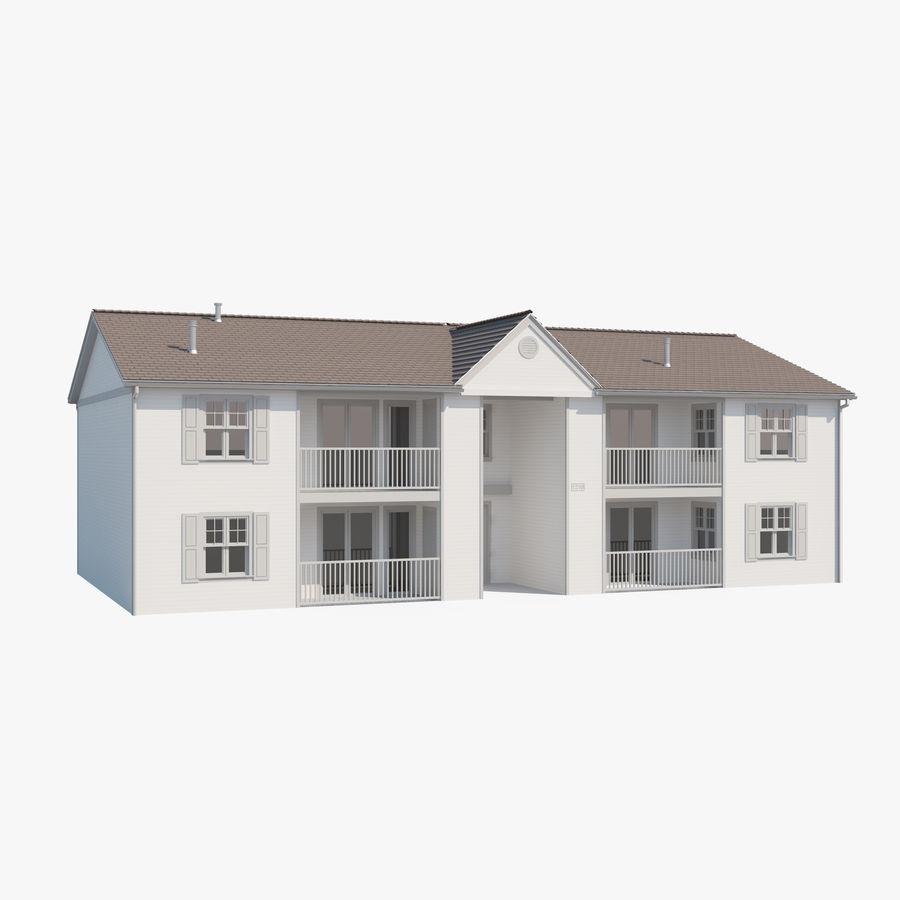 Mieszkanie do domu royalty-free 3d model - Preview no. 1