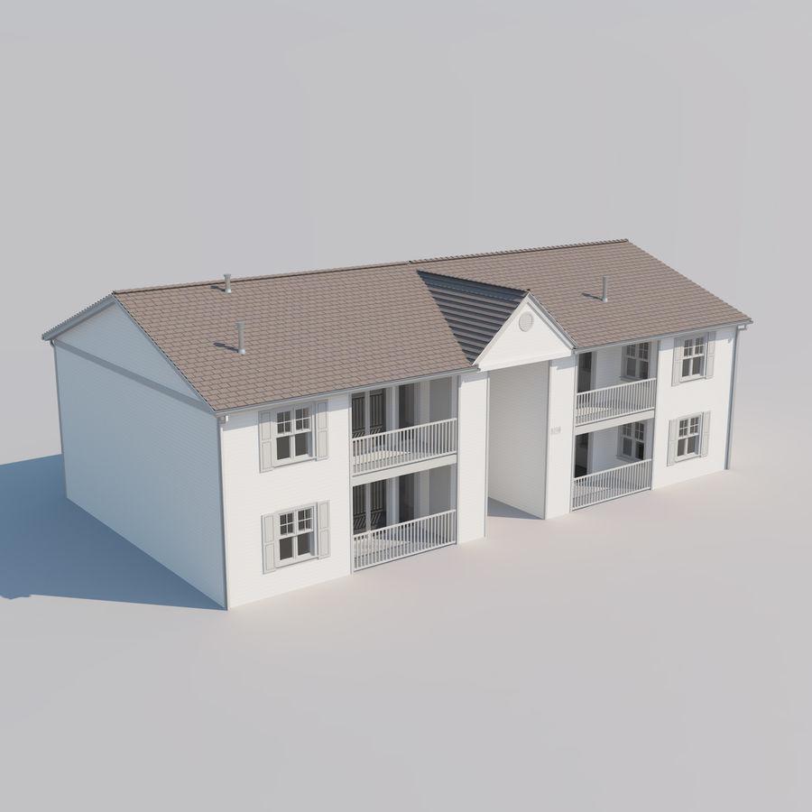 Mieszkanie do domu royalty-free 3d model - Preview no. 5