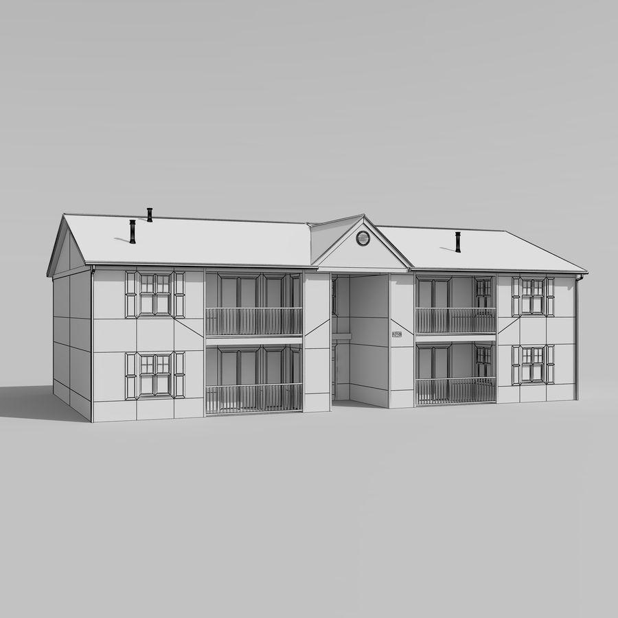 Mieszkanie do domu royalty-free 3d model - Preview no. 6
