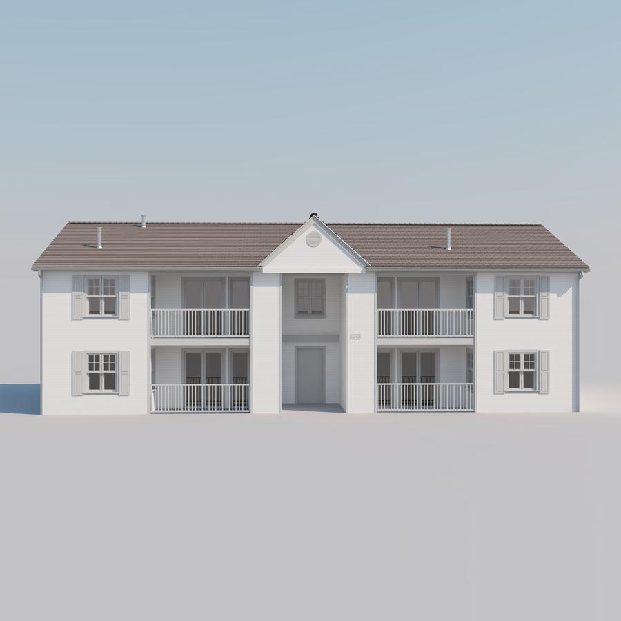 Mieszkanie do domu royalty-free 3d model - Preview no. 3