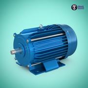 전기 모터 3d model