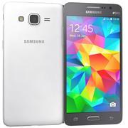 三星Galaxy Grand Prime黑白 3d model