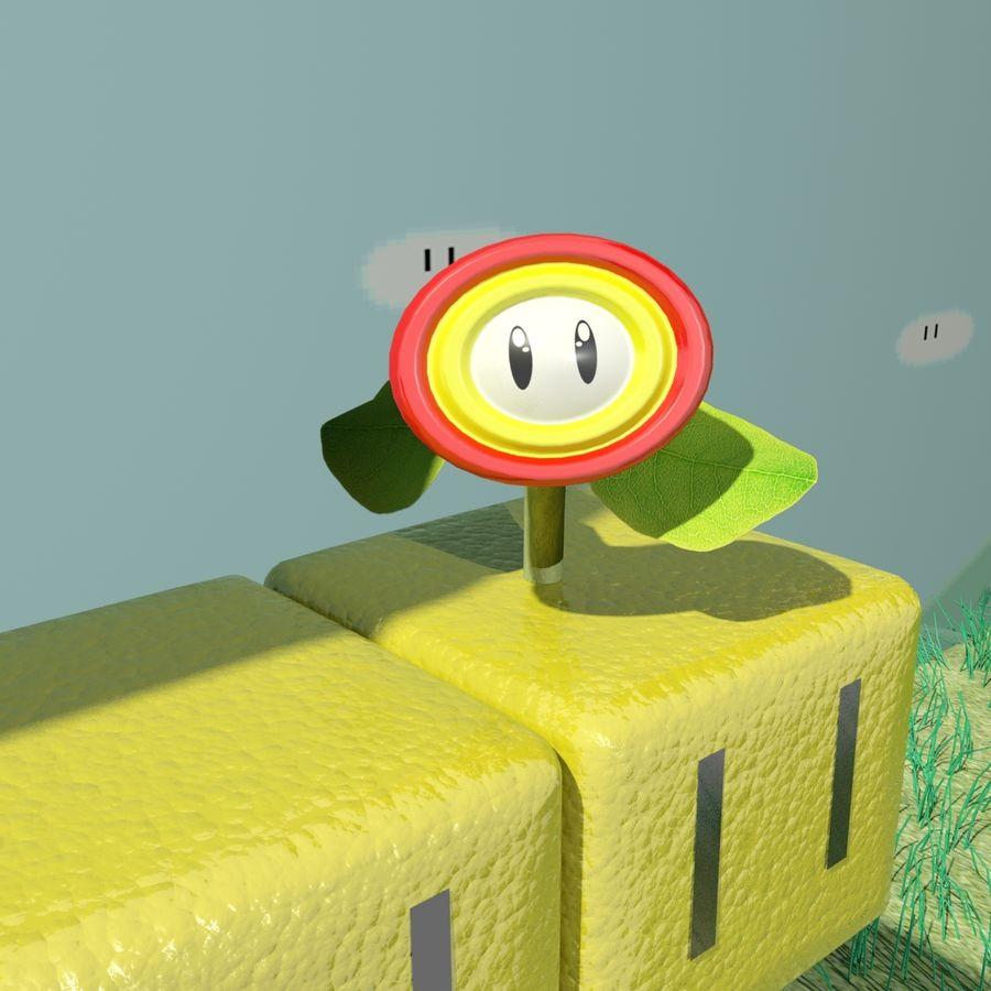 Mario Set royalty-free 3d model - Preview no. 7