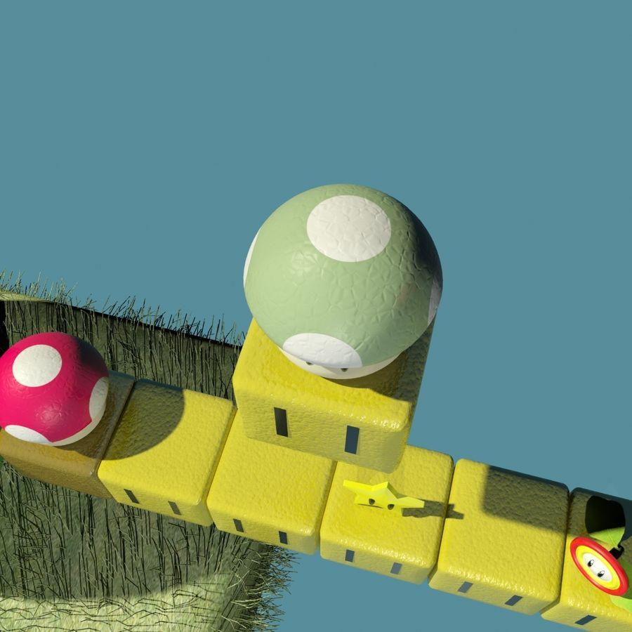 Mario Set royalty-free 3d model - Preview no. 10