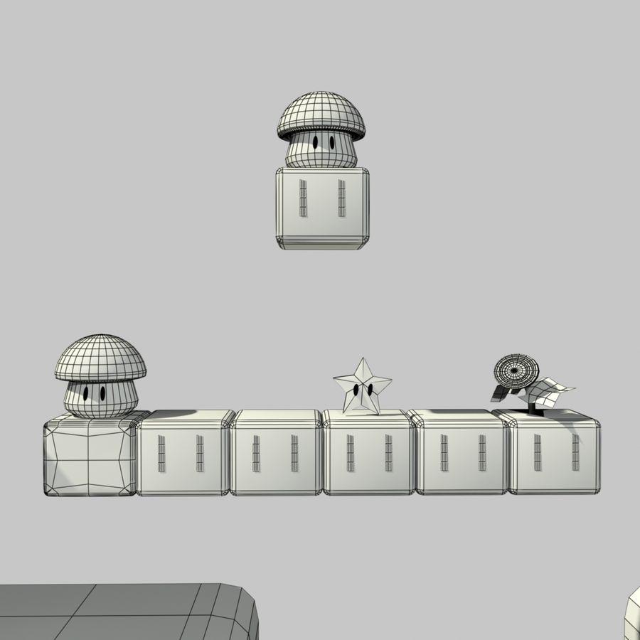 Mario Set royalty-free 3d model - Preview no. 12