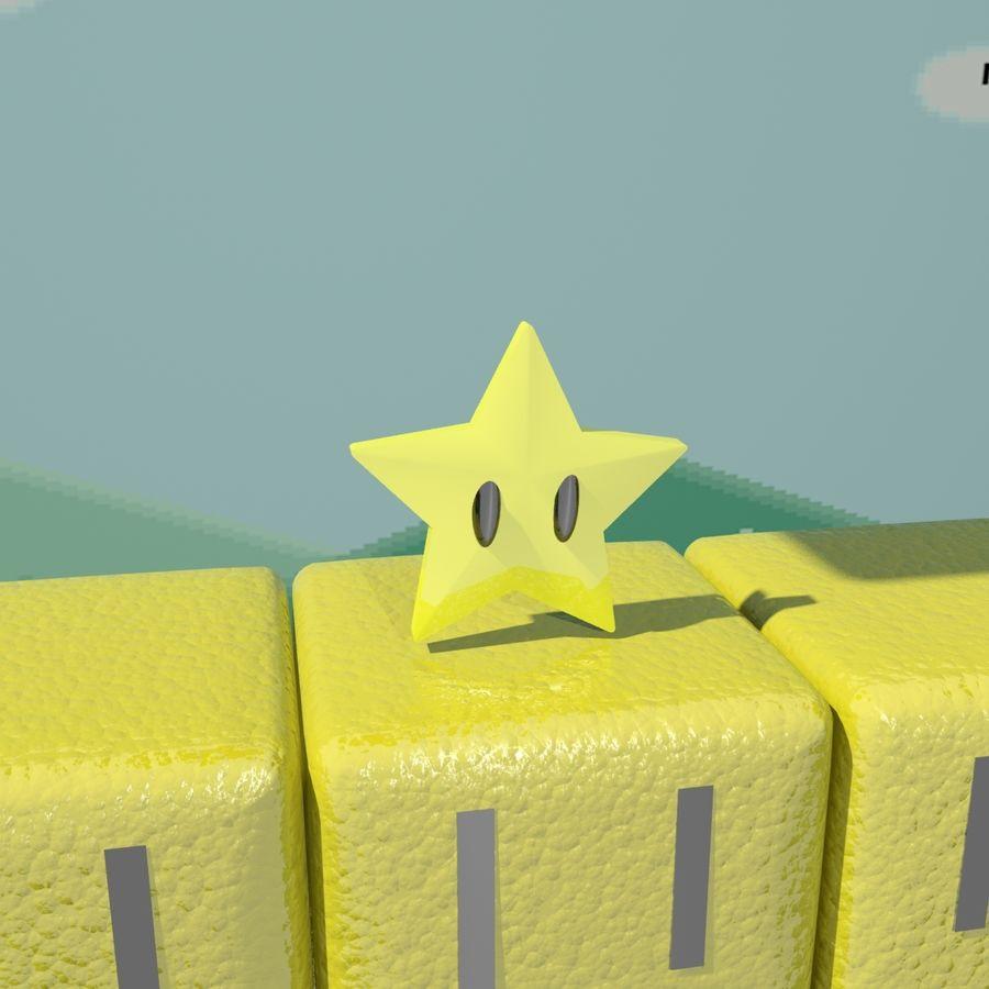 Mario Set royalty-free 3d model - Preview no. 5