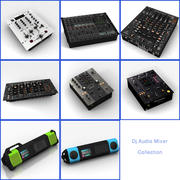 Dj Audio Mixer Collection 3d model