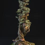 Korzenie drzew Magic Fairy Tale 3d model