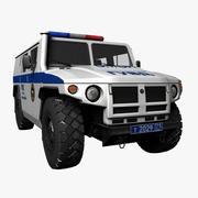 GAZ Tigr OMON 3d model
