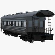 Trein Auto Caboose 3d model