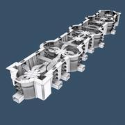 Sci-Fi-inställning 3d model