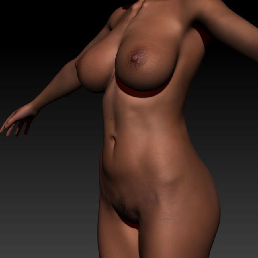 Z_Girl1 royalty-free 3d model - Preview no. 8