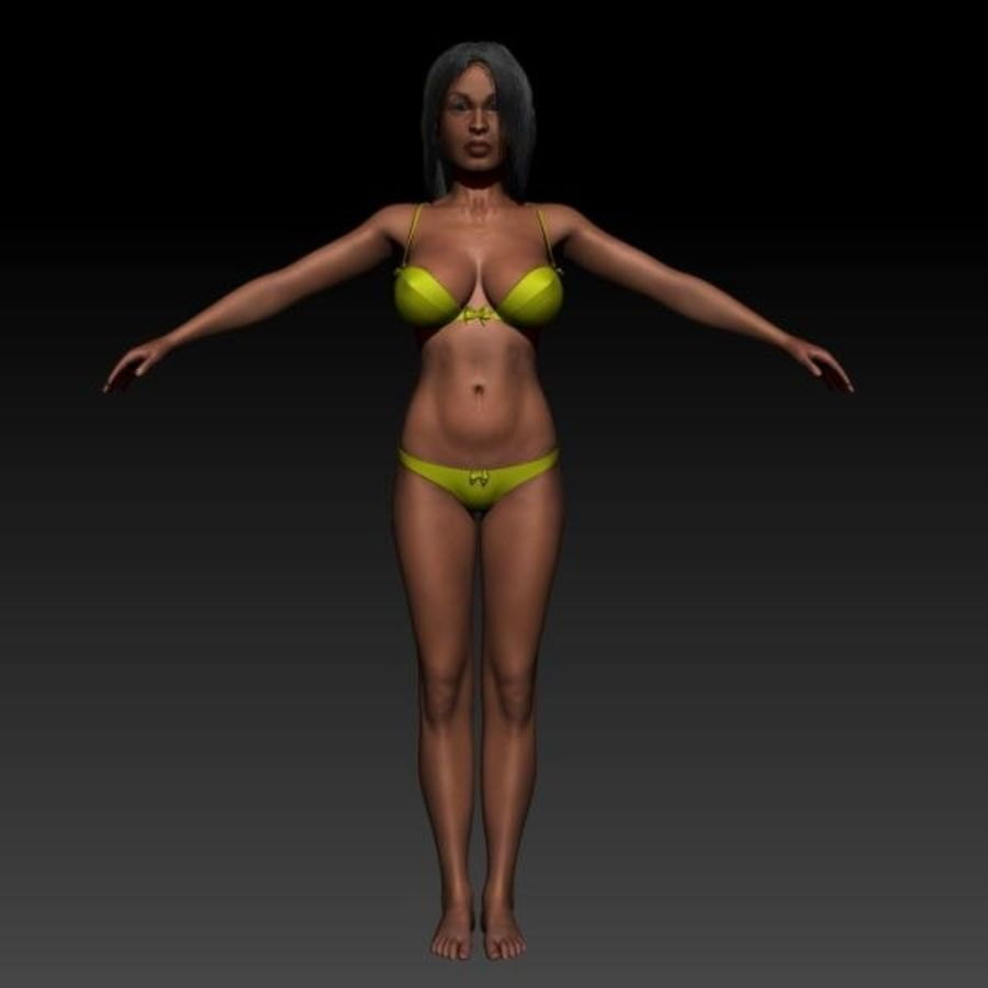 Z_Girl1 royalty-free 3d model - Preview no. 2