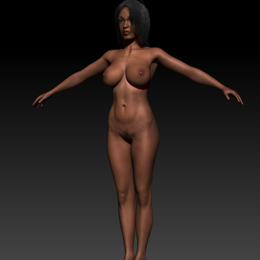 Z_Girl1 royalty-free 3d model - Preview no. 5