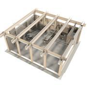 厨房 3d model