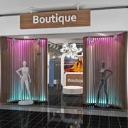 Fashion Boutique Interior 3d model
