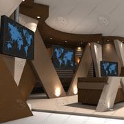 Virtual Set 27 3d model