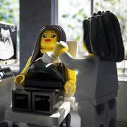 hamile lego sahne 3d model