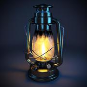 Lampe à pétrole 3d model