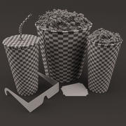 Cinema Set 3d model