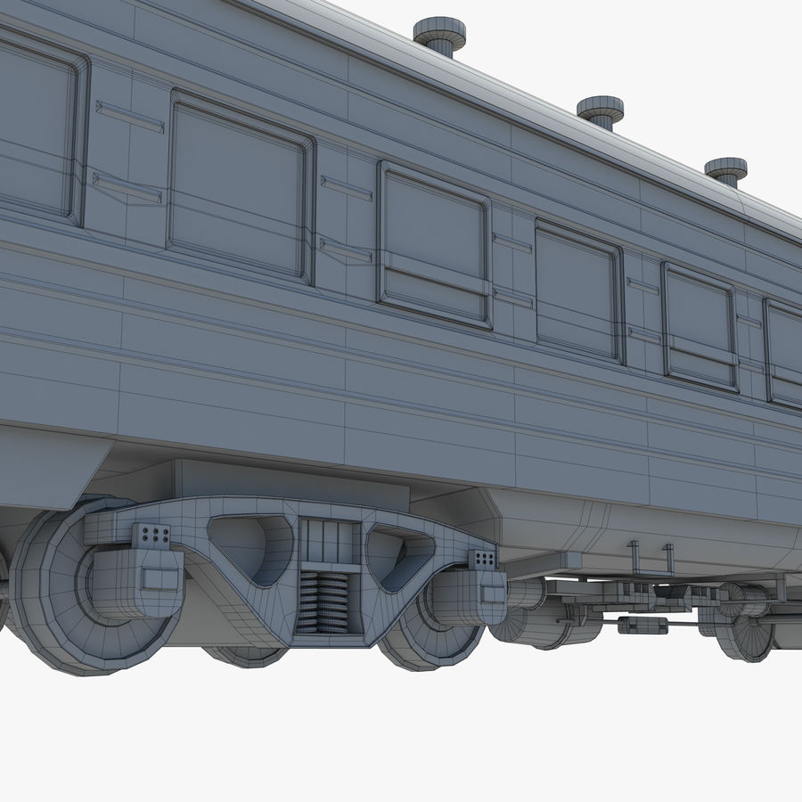 Вагон royalty-free 3d model - Preview no. 19