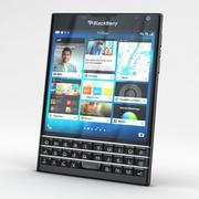 Pasaporte BlackBerry Todo Color modelo 3d