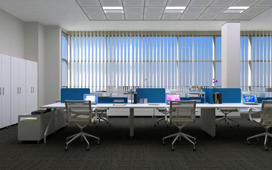 Ofis iç sahne royalty-free 3d model - Preview no. 2